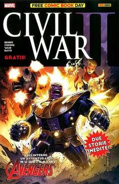 Copertina FREE COMIC BOOK DAY n.1 - CIVIL WAR II, PANINI COMICS
