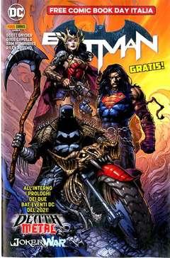 Copertina FREE COMIC BOOK DAY ITALIA '20 n.3 - BATMAN DEATH METAL/JOKER WAR, PANINI COMICS