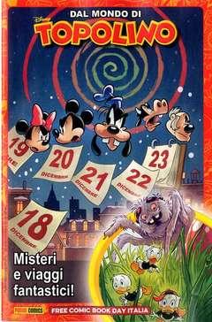 Copertina FREE COMIC BOOK DAY ITALIA '20 n.5 - DAL MONDO DI TOPOLINO: MISTERI E VIAGGI FANTASTICI, PANINI COMICS