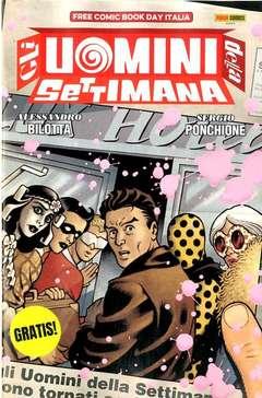 Copertina FREE COMIC BOOK DAY ITALIA '20 n.1 - GLI UOMINI DELLA SETTIMANA, PANINI COMICS