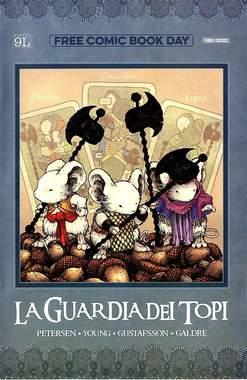 Copertina FREE COMIC BOOK DAY n.2 - LA GUARDIA DEI TOPI, PANINI COMICS