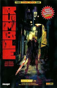 Copertina FREE COMIC BOOK DAY n.3 - RUMBLE, PANINI COMICS