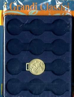 Copertina GRANDI CLASSICI DISNEY n.7 - I GRANDI CLASSICI DISNEY con medaglia e raccoglitore, PANINI COMICS