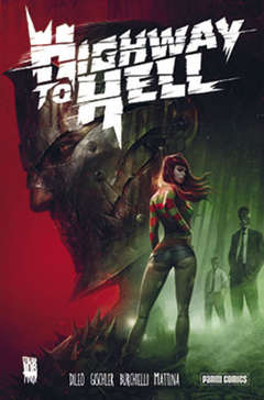 Copertina HIGHWAY TO HELL n.0 - HIGHWAY TO HELL, PANINI COMICS