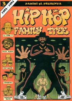 Copertina HIP HOP FAMILY TREE n.3 - HIP HOP FAMILY TREE, PANINI COMICS