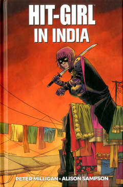Copertina HIT-GIRL n.6 - INDIA, PANINI COMICS