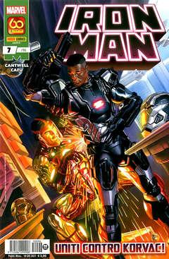 Copertina IRON MAN n.96 - IRON MAN 7, PANINI COMICS