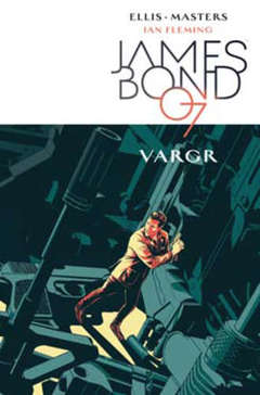 Copertina JAMES BOND 007 VARGR n.0 - VARGR, PANINI COMICS