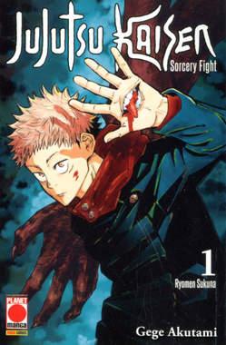 Copertina JUJUTSU KAISEN n.1 - MANGA HERO 35, PANINI COMICS