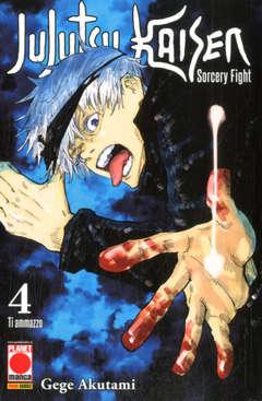 Copertina JUJUTSU KAISEN n.4 - MANGA HERO 39, PANINI COMICS