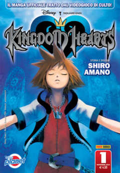 Copertina KINGDOM HEARTS n.1 - KINGDOM HEARTS, PANINI COMICS