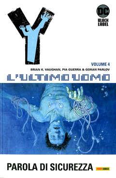 Copertina Y L'ULTIMO UOMO n.4 - PAROLA DI SICUREZZA, PANINI COMICS