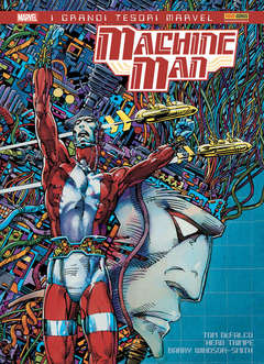 Copertina MACHINE MAN DI BARRY W. SMITH n. - MACHINE MAN DI BARRY WINDSOR SMITH, PANINI COMICS