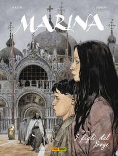 Copertina MARINA n.1 - I FIGLI DEL DOGE, PANINI COMICS
