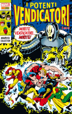 Copertina MARVEL COLLECTION n.21 - I POTENTI VENDICATORI 1 (m4), PANINI COMICS