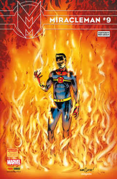 Copertina MARVEL COLLECTION 37 Variant n. - MIRACLEMAN 9 - Cover B, PANINI COMICS