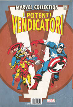 Copertina MARVEL COLLECTION + COFANETTO n.6 - I VENDICATORI II 1 (m4), PANINI COMICS