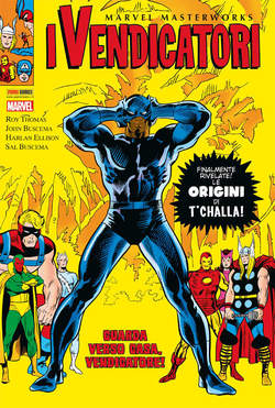 Copertina MARVEL MASTERWORKS n.74 - I VENDICATORI 8, PANINI COMICS