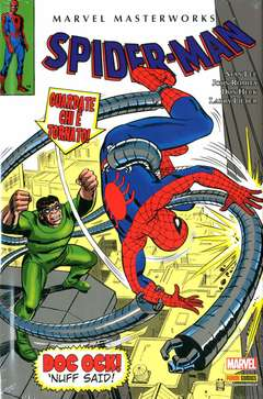 Copertina MARVEL MASTERWORKS ristampa n.27 - SPIDER-MAN 6, PANINI COMICS