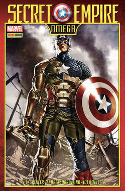 Copertina MARVEL MINISERIE n.199 - SECRET EMPIRE OMEGA, PANINI COMICS