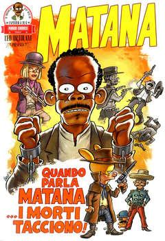 Copertina MATANA (m6) n.4 - MATANA, PANINI COMICS