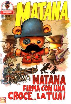 Copertina MATANA (m6) n.5 - MATANA, PANINI COMICS