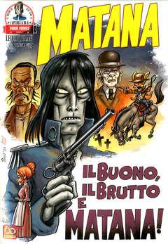 Copertina MATANA (m6) n.6 - MATANA, PANINI COMICS