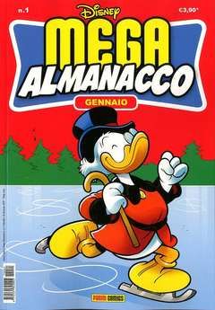 Copertina MEGA ALMANACCO n.1 - MEGA ALMANACCO, PANINI COMICS