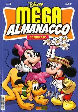 Copertina MEGA ALMANACCO n.2 - MEGA ALMANACCO, PANINI COMICS