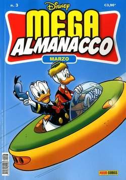 Copertina MEGA ALMANACCO n.3 - MEGA ALMANACCO, PANINI COMICS