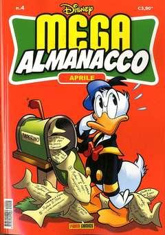 Copertina MEGA ALMANACCO n.4 - MEGA ALMANACCO, PANINI COMICS