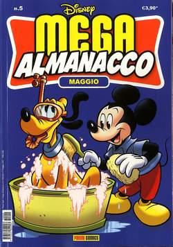 Copertina MEGA ALMANACCO n.5 - MEGA ALMANACCO, PANINI COMICS