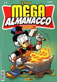 Copertina MEGA ALMANACCO n.6 - MEGA ALMANACCO, PANINI COMICS