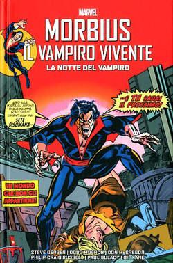 Copertina MORBIUS LA NOTTE DEL VAMPIRO n. - MORBIUS IL VAMPIRO VIVENTE: LA NOTTE DEL VAMPIRO, PANINI COMICS