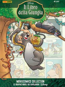 Copertina MOVIECOMICS COLLECTION Disney n.2 - IL LIBRO DELLA GIUNGLA, PANINI COMICS