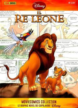 Copertina MOVIECOMICS COLLECTION Disney n.3 - IL RE LEONE, PANINI COMICS