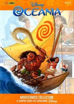Copertina MOVIECOMICS COLLECTION Disney n.5 - Oceania, PANINI COMICS