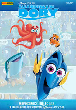 Copertina MOVIECOMICS COLLECTION Pixar n.4 - ALLA RICERCA DI DORY, PANINI COMICS