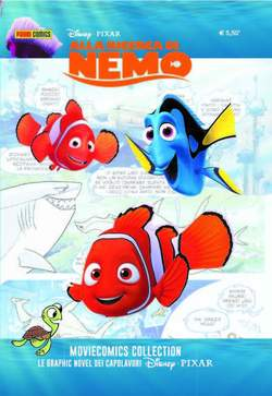 Copertina MOVIECOMICS COLLECTION Pixar n.2 - ALLA RICERCA DI NEMO, PANINI COMICS