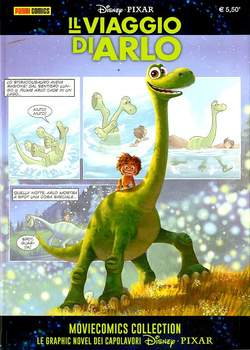 Copertina MOVIECOMICS COLLECTION Pixar n.1 - IL VIAGGIO DI ARLO, PANINI COMICS
