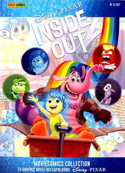 Copertina MOVIECOMICS COLLECTION Pixar n.5 - INSIDE OUT, PANINI COMICS