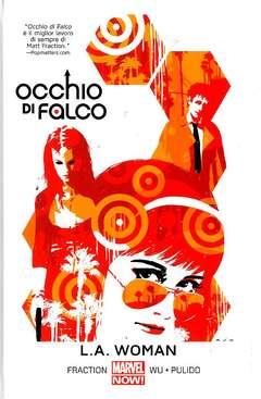 Copertina OCCHIO DI FALCO n.3 - L.A. WOMAN, PANINI COMICS