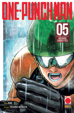 Copertina ONE-PUNCH MAN Ristampa n.5 - ONE-PUNCH MAN - Ristampa, PANINI COMICS