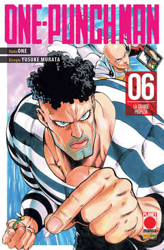 Copertina ONE-PUNCH MAN Ristampa n.6 - ONE-PUNCH MAN - Ristampa, PANINI COMICS