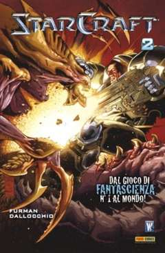 Copertina PANINI COMICS MIX n.10 - STARCRAFT 2 (m3), PANINI COMICS
