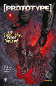 Copertina PANINI COMICS MIX n.1 - PROTOTYPE 1 (m3), PANINI COMICS