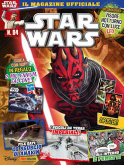 Copertina PANINI LEGENDS n.9 - STAR WARS MAGAZINE 4, PANINI COMICS
