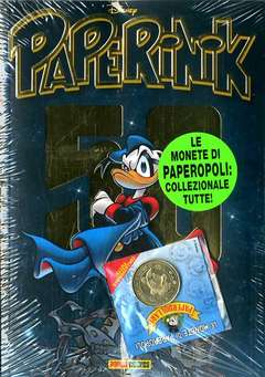 Copertina PAPERINIK APPGRADE n.101 - PAPERINIK 50 con moneta, PANINI COMICS