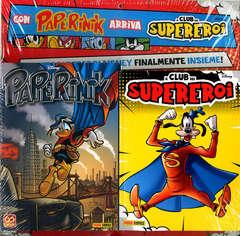 Copertina PAPERINIK APPGRADE #106 + CLUB n. - PAPERINIK 55 + IL CLUB DEI SUPEREROI #1, PANINI COMICS