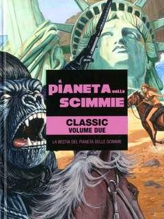 Copertina PIANETA DELLE SCIMMIE n.2 - LA BESTIA DEL PIANETA DELLE SCIMMIE, PANINI COMICS